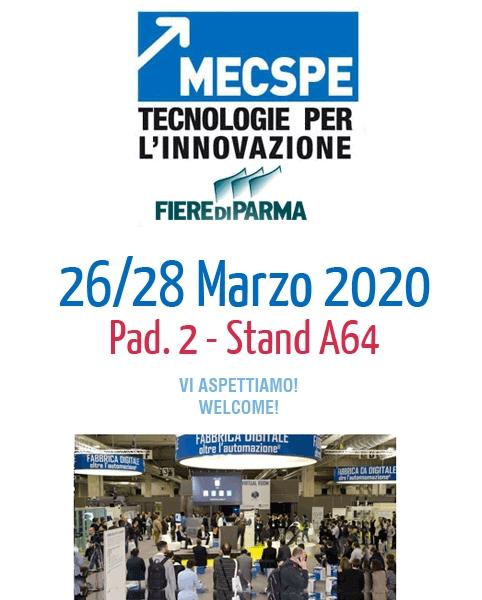 Vi aspettiamo al MECSE Parma 2020